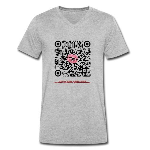 Stimmungsbarometer - Männer Bio-T-Shirt mit V-Ausschnitt von Stanley & Stella