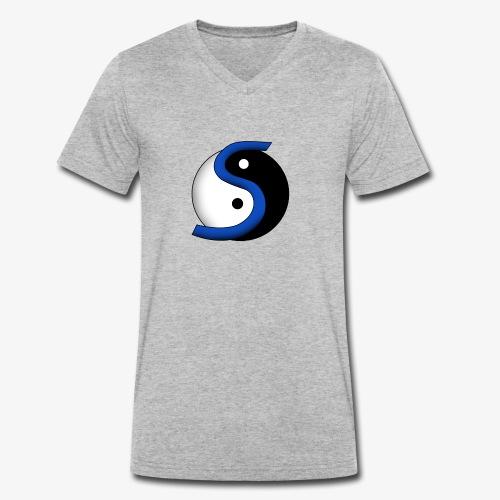 Nuovo Logo del canale - T-shirt ecologica da uomo con scollo a V di Stanley & Stella