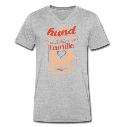 Mein Hund ist keine Sache - Männer Bio-T-Shirt mit V-Ausschnitt von Stanley & Stella