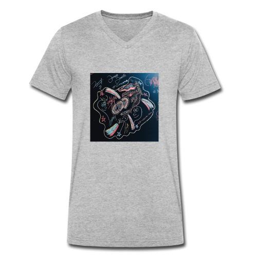 CD9 CARTEL - Camiseta ecológica hombre con cuello de pico de Stanley & Stella