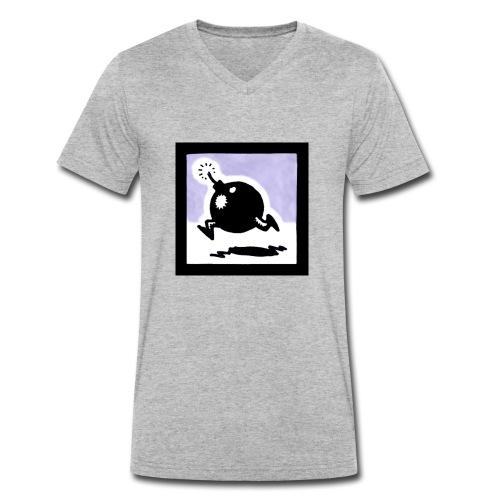 bomba - T-shirt ecologica da uomo con scollo a V di Stanley & Stella