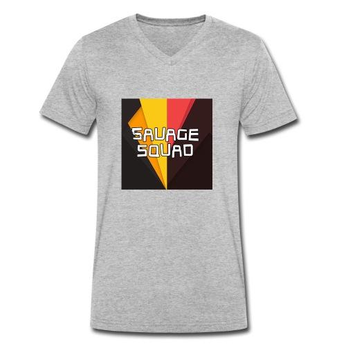 SavageSquad Gear - Men's Organic V-Neck T-Shirt by Stanley & Stella