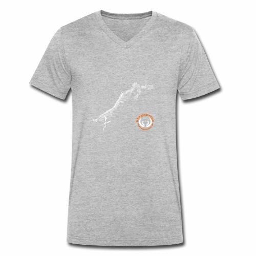 Jagdprinz - Wildschwein - Männer Bio-T-Shirt mit V-Ausschnitt von Stanley & Stella