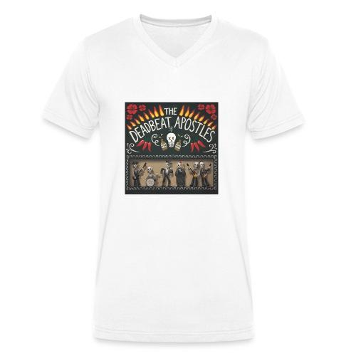 The Deadbeat Apostles - Men's Organic V-Neck T-Shirt by Stanley & Stella