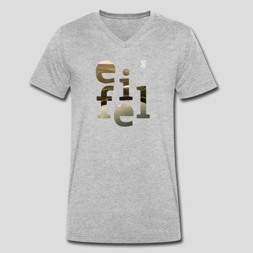 eifel - weiß - Männer Bio-T-Shirt mit V-Ausschnitt von Stanley & Stella