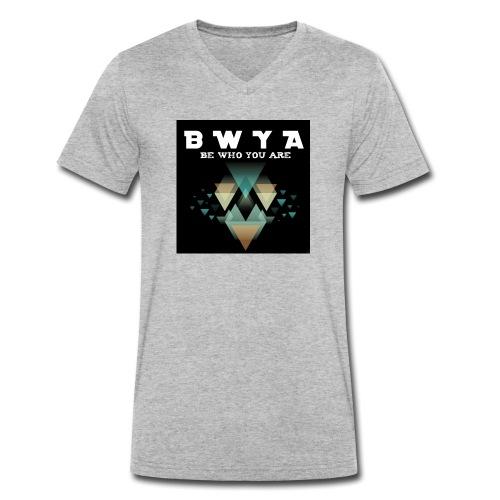 BWYA Damenshirt - Explosion - Männer Bio-T-Shirt mit V-Ausschnitt von Stanley & Stella