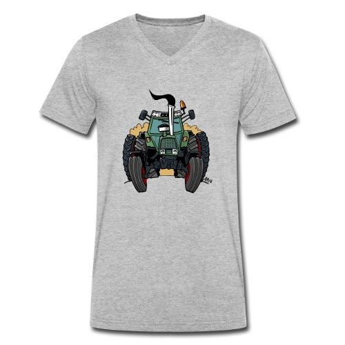 0163 F - Mannen bio T-shirt met V-hals van Stanley & Stella