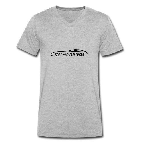RoadAdventures - Männer Bio-T-Shirt mit V-Ausschnitt von Stanley & Stella