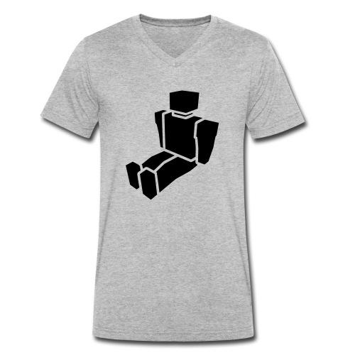 htidvector - Men's Organic V-Neck T-Shirt by Stanley & Stella
