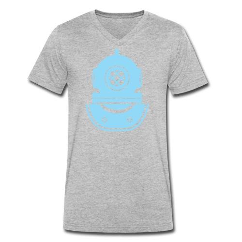 Taucherhelm - Männer Bio-T-Shirt mit V-Ausschnitt von Stanley & Stella