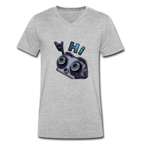 The DTS51 emote1 - Mannen bio T-shirt met V-hals van Stanley & Stella