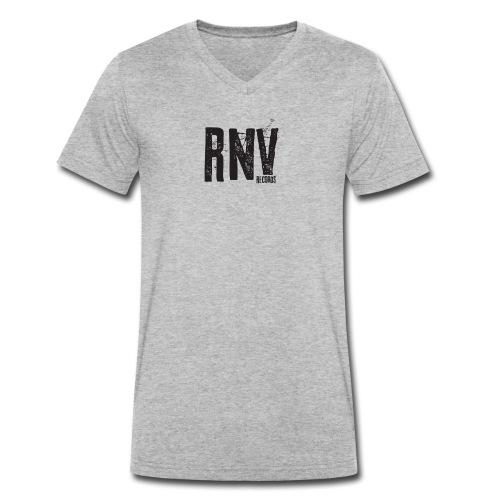 Rhythm N Vibe Records - Men's Organic V-Neck T-Shirt by Stanley & Stella