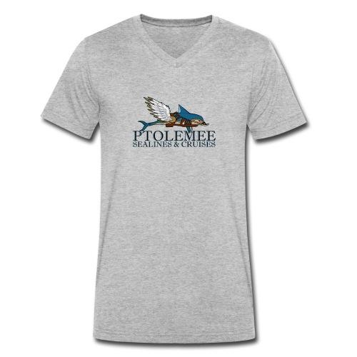 LOGO Ptolemee Sealines - T-shirt bio col V Stanley & Stella Homme