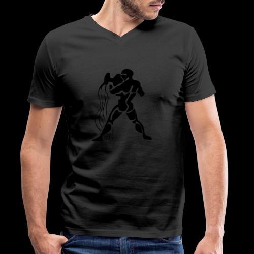 STERNZEICHEN WASSERMANN - Männer Bio-T-Shirt mit V-Ausschnitt von Stanley & Stella