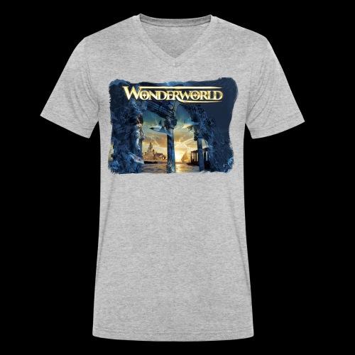 WW I - Økologisk T-skjorte med V-hals for menn fra Stanley & Stella