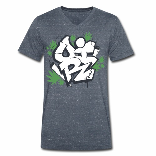 OIR-graffiti - Økologisk Stanley & Stella T-shirt med V-udskæring til herrer