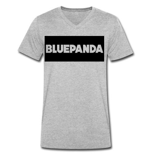 BLUE PANDA - Men's Organic V-Neck T-Shirt by Stanley & Stella