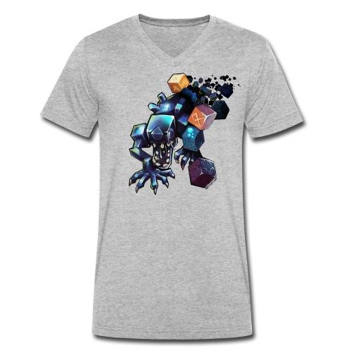 BDcraft Alien - Men's Organic V-Neck T-Shirt by Stanley & Stella