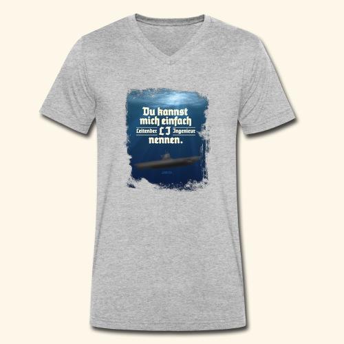 Ingenieur T Shirt Leitender Ingenieur LI - Männer Bio-T-Shirt mit V-Ausschnitt von Stanley & Stella