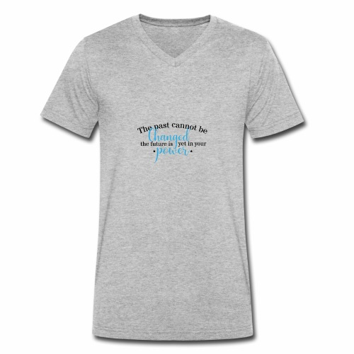 The Future Is In Your Power - Men's Organic V-Neck T-Shirt by Stanley & Stella