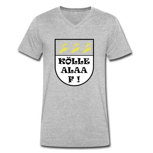 Wappen Kölle Alaaf! ohne rot - Männer Bio-T-Shirt mit V-Ausschnitt von Stanley & Stella