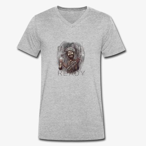 Party - Camiseta ecológica hombre con cuello de pico de Stanley & Stella