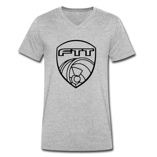 FTT Turbowappen 2k15 - Männer Bio-T-Shirt mit V-Ausschnitt von Stanley & Stella