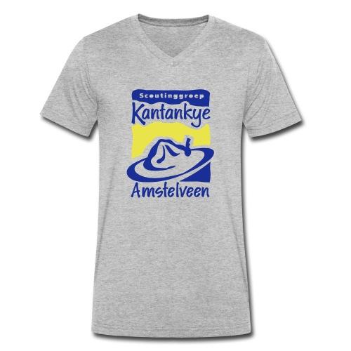 logo simpel 2 - Mannen bio T-shirt met V-hals van Stanley & Stella