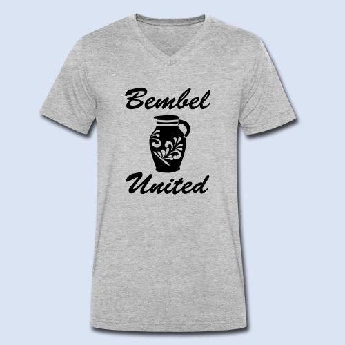 Bembel United Hessen - Männer Bio-T-Shirt mit V-Ausschnitt von Stanley & Stella