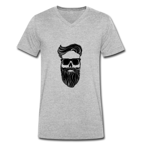 Bart - Männer Bio-T-Shirt mit V-Ausschnitt von Stanley & Stella