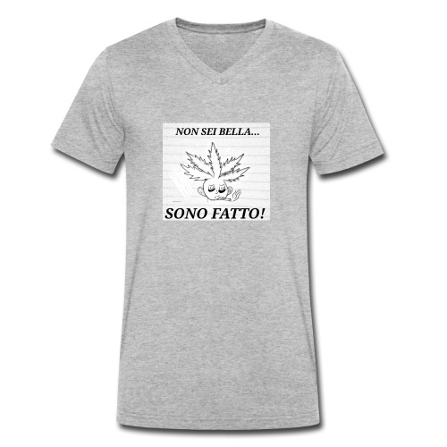 Fatt-One - T-shirt ecologica da uomo con scollo a V di Stanley & Stella