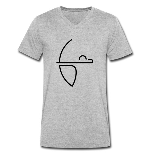 FBC Logo ohne Schrift - Männer Bio-T-Shirt mit V-Ausschnitt von Stanley & Stella