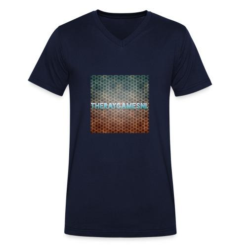 TheRayGames Merch - Men's Organic V-Neck T-Shirt by Stanley & Stella