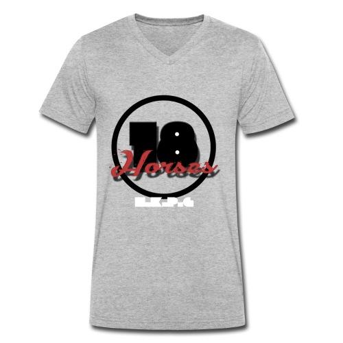 18 Horses - NKPG (White) - Ekologisk T-shirt med V-ringning herr från Stanley & Stella