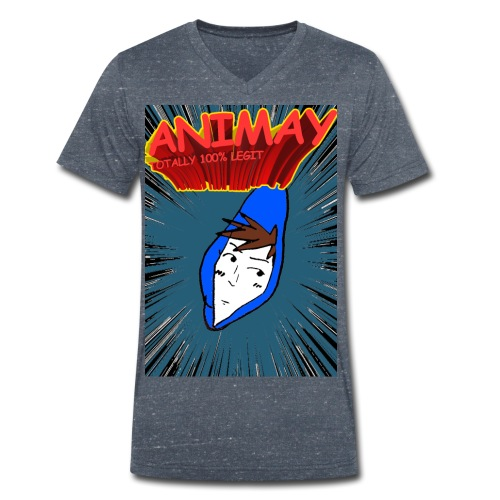 Animay: Toatally100% Legit - merch - Men's Organic V-Neck T-Shirt by Stanley & Stella