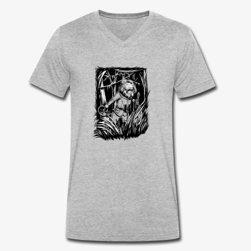 King of the Jungle - Men's Organic V-Neck T-Shirt by Stanley & Stella