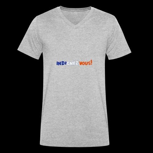 indignez vous! - Männer Bio-T-Shirt mit V-Ausschnitt von Stanley & Stella
