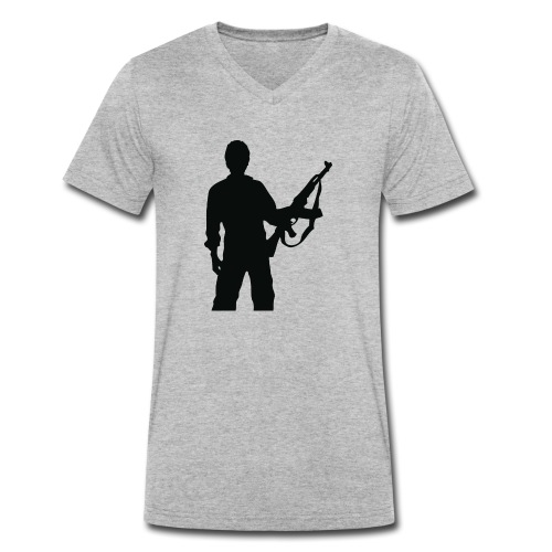 RESISTENZA INTERNAZIUNALE - T-shirt bio col V Stanley & Stella Homme