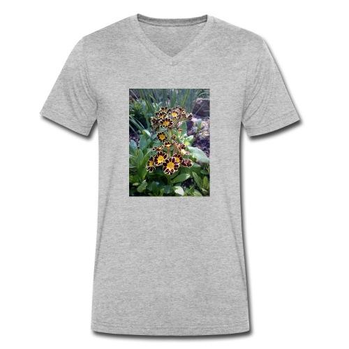 Primel - Männer Bio-T-Shirt mit V-Ausschnitt von Stanley & Stella