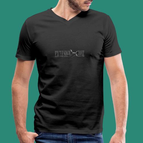 EXCLUSION ZONE - Männer Bio-T-Shirt mit V-Ausschnitt von Stanley & Stella