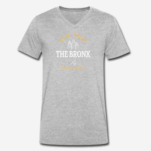 NEW YORK - THEBRONX - T-shirt ecologica da uomo con scollo a V di Stanley & Stella