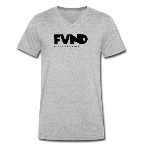 FUND Friskole - Økologisk Stanley & Stella T-shirt med V-udskæring til herrer