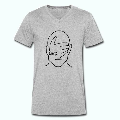 OMG - Männer Bio-T-Shirt mit V-Ausschnitt von Stanley & Stella