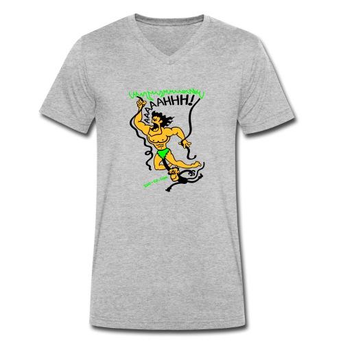 Jungle Call - Men's Organic V-Neck T-Shirt by Stanley & Stella