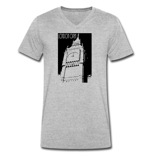London Open - Men's Organic V-Neck T-Shirt by Stanley & Stella
