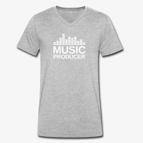 Music Producer Equalizer - Männer Bio-T-Shirt mit V-Ausschnitt von Stanley & Stella