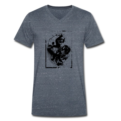 abstract4a - Men's Organic V-Neck T-Shirt by Stanley & Stella