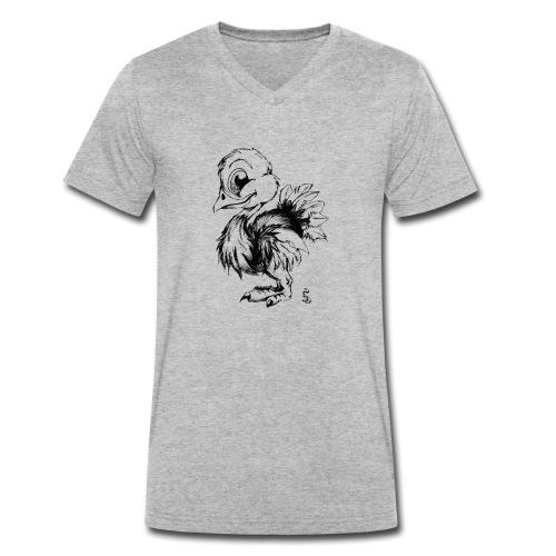 Autruchon - T-shirt bio col V Stanley & Stella Homme