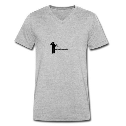 Terapista - T-shirt ecologica da uomo con scollo a V di Stanley & Stella