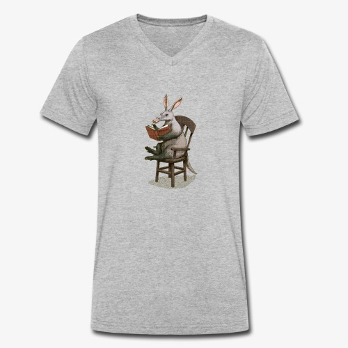 A is for Aardvark - Men's Organic V-Neck T-Shirt by Stanley & Stella